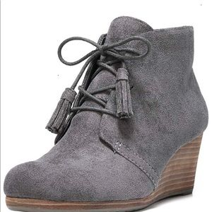 Dr. Scholl's Women's Dakota Boot - Gray - 8M
